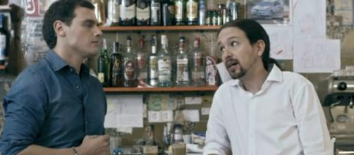 Pablo Iglesias gana un duro debate contra Albert Rivera