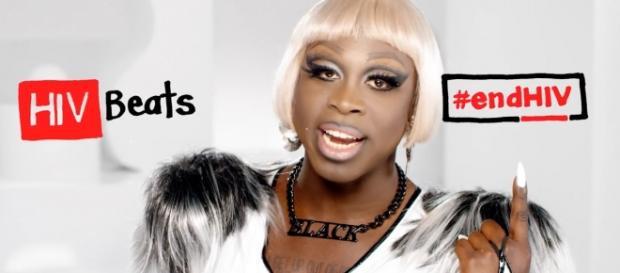 Bob The Drag Queen, a vencedora do reality de RuPaul entra na campanha contra o HIV