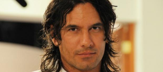 Mario Cimarro na novela Mar de Amor, 2009 (Foto: Reprodução/Google)