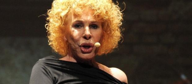 La cantante italiana Ornella Vanoni.