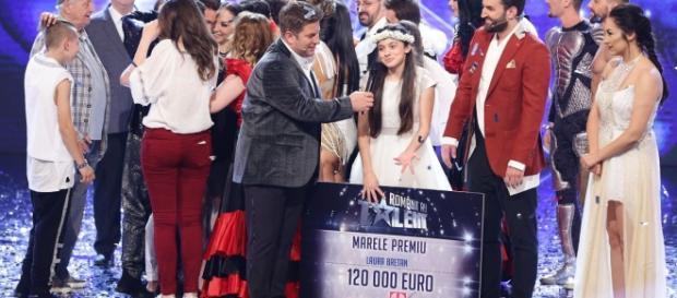 Laura Bretan, câștigătoarea concursului Românii au Talent