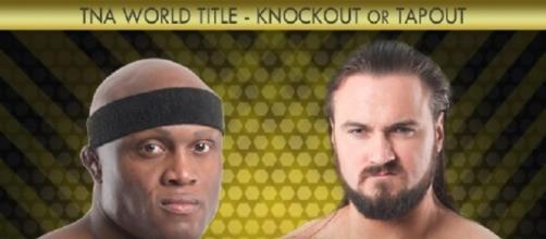 TNA World Title: Drew Galloway contro Bobby Lashley