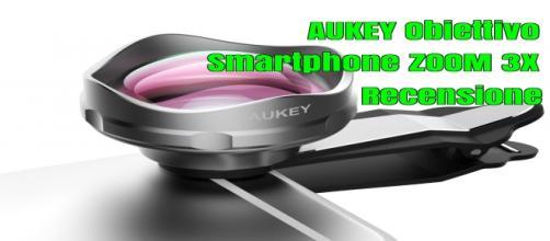 Aukey obiettivo per smartphone zoom 3x recensione PL-BL02