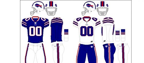 Buffalo Bills uniforms (Wikipedia)