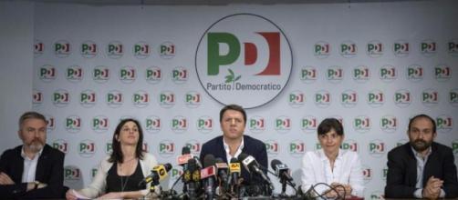 Conferenza stampa di Matteo Renzi sui risultati elettorali
