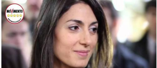 La candidata del M5S a sindaco di Roma, Virginia Raggi