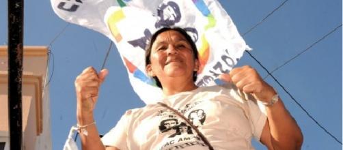 La dirigente de la Tupac Amarú, victima del gobernador Morales