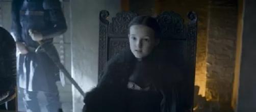 La pequeña Lyanna Mormont, Señora de la Isla del Oso