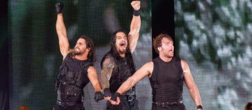 WWE The Shield; May 2014 (photo via Flickr/Miguel Discart)