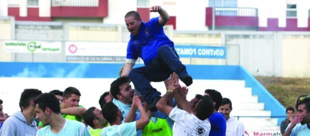 Atleta do GC Alcobaça agrediu o árbitro no jogo contra o Guiense.