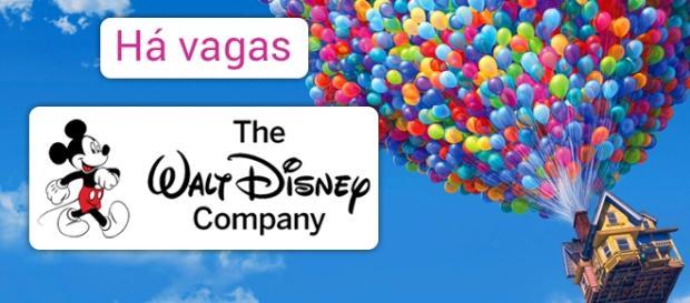 Confira as vagas abertas na Disney.