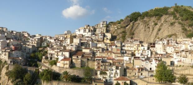 Foto panoramica di Ragusa, in Sicilia.