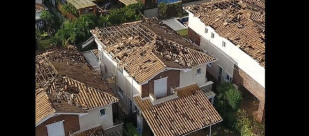 Microexplosões deixam rastro de destruição em vários bairros da cidade de Campinas