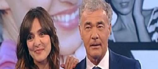 Ambra Angiolini e Massimo Giletti nuova coppia
