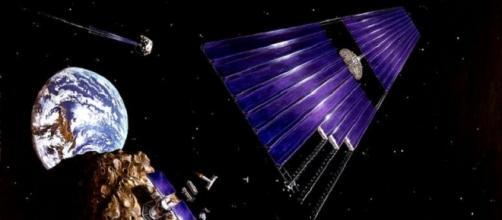 Asteroid mining concept (NASA)