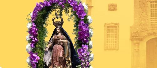 Cartaz da Festa da Sr.ª das Vitórias e S. Paio - Padroeiros da freguesia de Antas-Esposende.