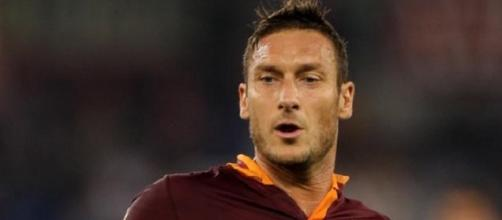Francesco Totti capitano della roma.