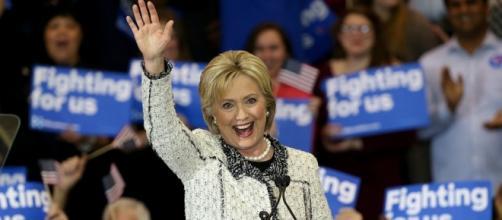 Hillary Clinton, candidata demócrata a la presidencia de Estados Unidos