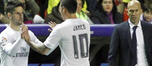 James o Isco es el gran dilema del club blanco para la próxima campaña