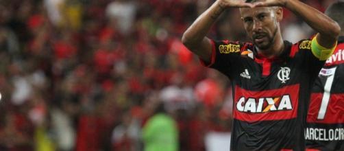 Leo Moura e a paixão nunca escondida pelo Flamengo