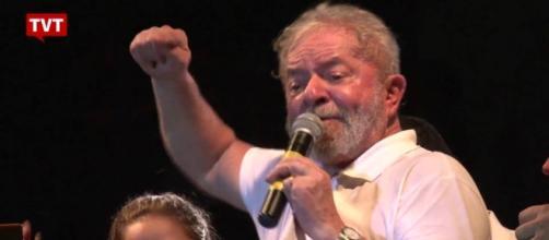 Lula participou de ato no Rio de Janeiro