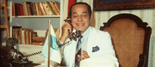 Paulo Gracindo estrelou 'O Bem-Amado' (Foto: Memória Globo/Divulgação)
