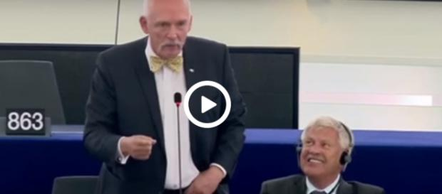 Janusz Korwin-Mikke, prezes partii KORWiN, europoseł niezrzeszony