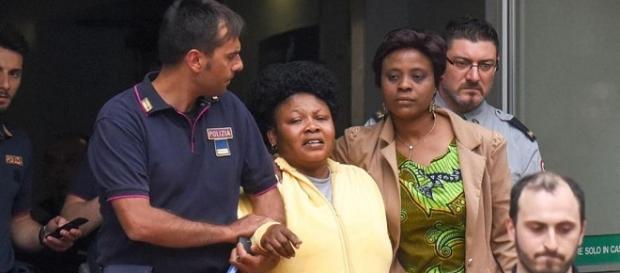 La 35enne ghanese madre del piccolo Henry