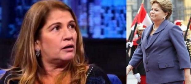 Para atriz, Dilma está passando fome
