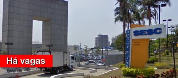Sede do SESC em Santo André (Foto: Google)