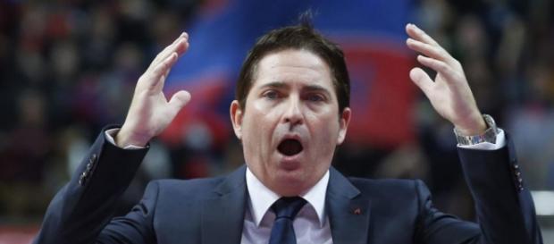 Xavi Pascual, el entrenador se podría jugar su futuro en la final de la ACB