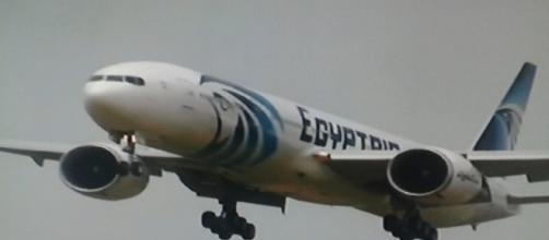 Aereo della compagnia Egyptair