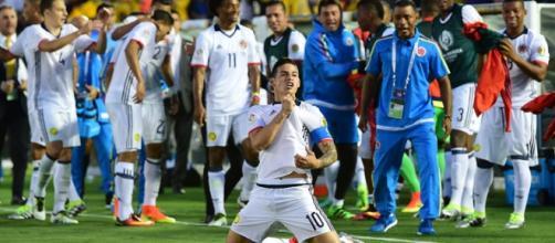 Colombia ancora nel segno di James Rodriguez