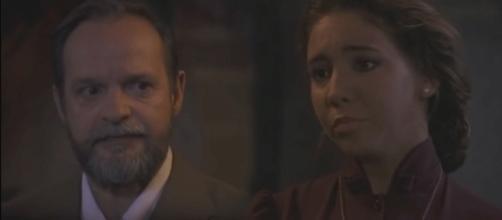 Il Segreto, anticipazioni puntata 1070: pace armata tra Emilia e Raimundo