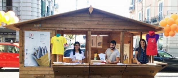 I ragazzi dell' Infopoin Salerno Letteratura Festival
