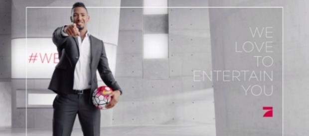 Jérôme Boateng wird Gesicht bei ProSieben; Foto: ProSieben