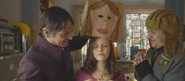 Maria Joaquina será sequestrada por vilões em filme (Reprodução/Youtube)