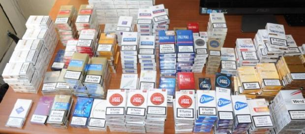 Tanti tipi di pacchetti di sigarette