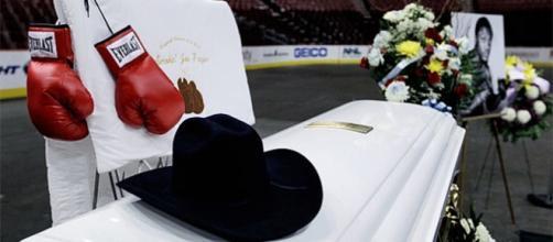 Así era el funeral de Muhammad Ali