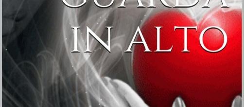 """Dettaglio della copertina dell'eBook """"Il suo cuore guarda in alto""""."""