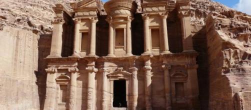 El Tesoro, monumento icónico de la ciudad de Petra