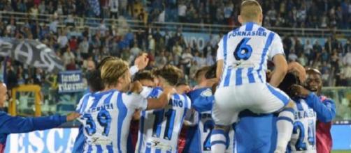Il Pescara pareggia 1-1 al Provinciale di Trapani e torna nella massima serie