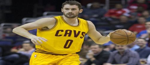 Kevin Love, a key player for the Cavaliers (Image via Wikipedia Commons)
