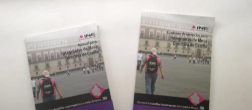 Libros que el INE otorga a quiénes salieron seleccionados para aleccionarlos