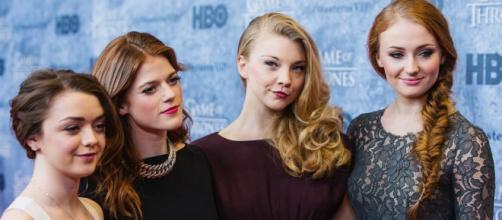 Parte del elenco femenino de Juego de Tronos