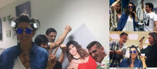 Paz Padilla y Carlota Corredera: 'No se soportan' (fotos Miteleopinion)