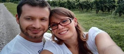 Selfie di Manuel e Michela (da Facebook).