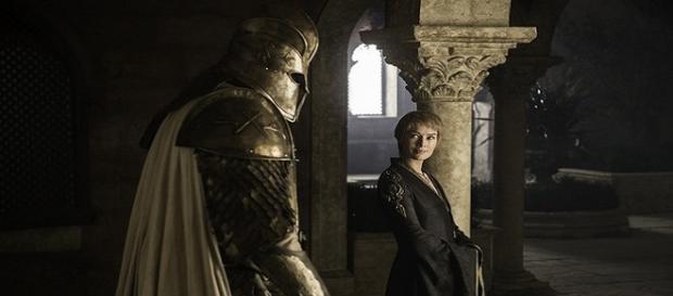 Cersei Lannister y la Montaña. HBO