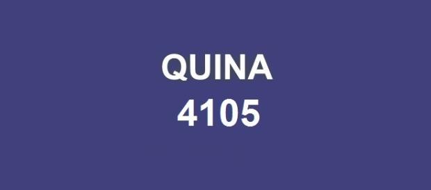 Dezenas do concurso Quina 4105 anunciadas pela CAIXA
