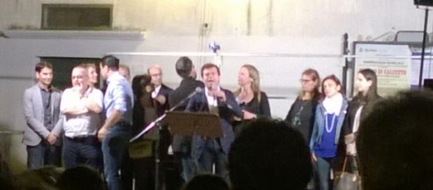 Il saluto di ringraziamento del neo sindaco di Taviano, Giuseppe Tanisi, ai cittadini.